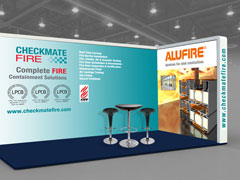 Exhibition stands designed and produced by Gable Lake Design, South Yorkshire